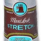 A&E Maxi Lock Stretch Textured Nylon Light Grey Serger Thread MWN-32432