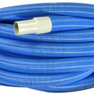 "K1146B Generic Blue Carpet Extractor Hose 1 1/2"" X 50'"