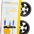 Casabella Compact Grook 10 inch Silver/Black