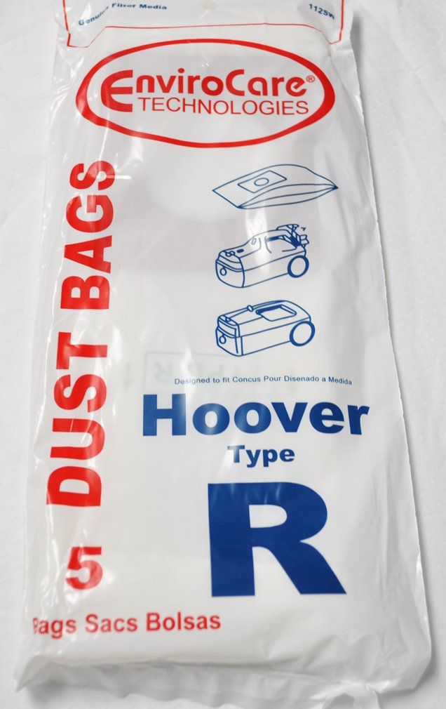 Hoover Type R Dust Bags, 5 Pack