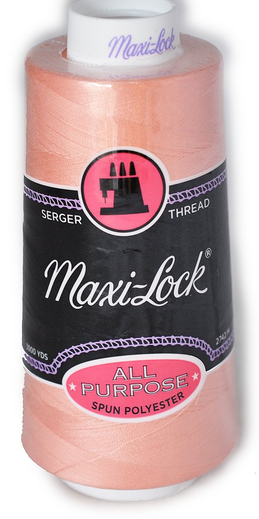 Maxi Lock All Purpose Thread Salmon Pink 3000 YD Cone MLT-061