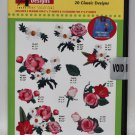 Amazing Designs Fanciful Flowers Embroidery CD, ADC-186