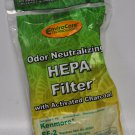 Kenmore Canister Vac Cleaner Hepa Filter 86880, 40320