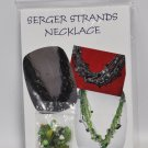 Lime Green Serger Strands Necklace Kit