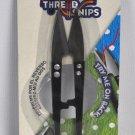 4.125 Inch Black Metal Thread Snips B4801