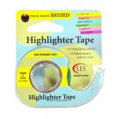 Removable Highlighter Tape 1/2in x 720in Fluorescent Green