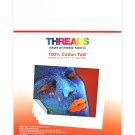 Threads Inkjet Printable Fabrics Cotton Poplin 8 1/2in x 11in