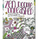 Zen Doodle Unleashed Coloring Book: Freeform Tangle Art
