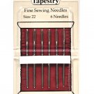 Piecemaker Tapestry Fine Sewing Needles Size 22