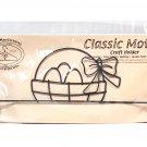 Classic Motifs Easter Basket 12 Inch Header