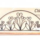 Classic Motifs Flower Garden 16 Inch Fabric Holder With Dowel