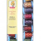 Color Medley Collection Spring Flowers Embroidery Thread Gift Pack