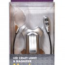 Mighty Bright Vusion LED Craft Light Silver