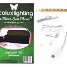 Ecoluxlighting Medium Light 9 LED with USB Adapter