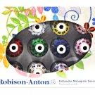 Robison Anton 12 Mini Snap Spools Thread Set