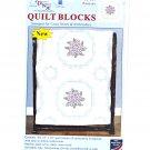 Jack Dempsey Pansies Quilt Blocks