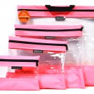 See Your Stuff The Clear Storage Bag Pink