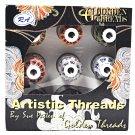 Golden Threads Artistic 9 Mini King Spools Threads
