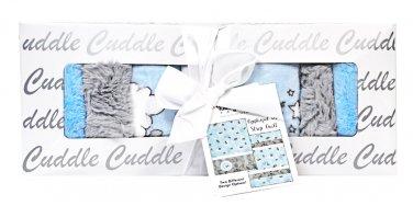 Shannon Fabrics Lullaby Cuddle Lucky Star Blue Kit