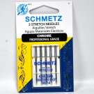 Schmetz Chrome Stretch Needle 5 ct, Size 90/14