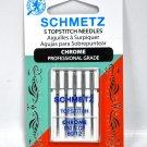 Schmetz Chrome Topstitch Needle 5 ct, Size 80/12