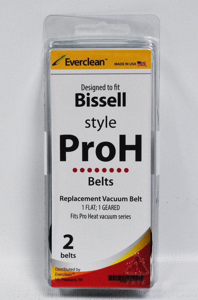 Generic Bissell Style Pro Heat Vacuum Belts 2 Pack