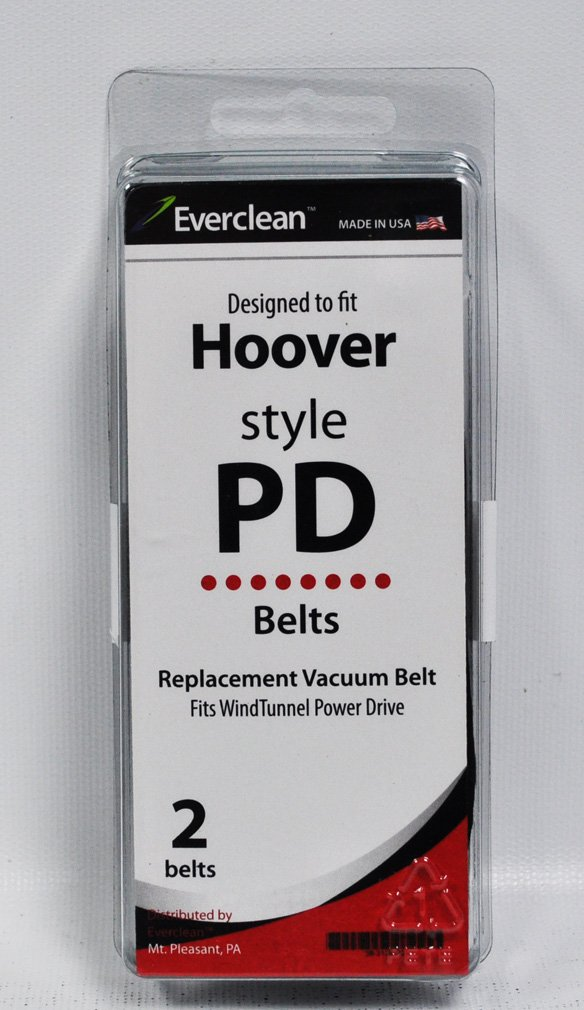 Generic Hoover Wind Tunnel Power Drive Vacuum Belts 2 Pack