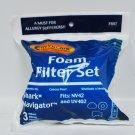 Envirocare Shark Navigator Foam Filter Set F657
