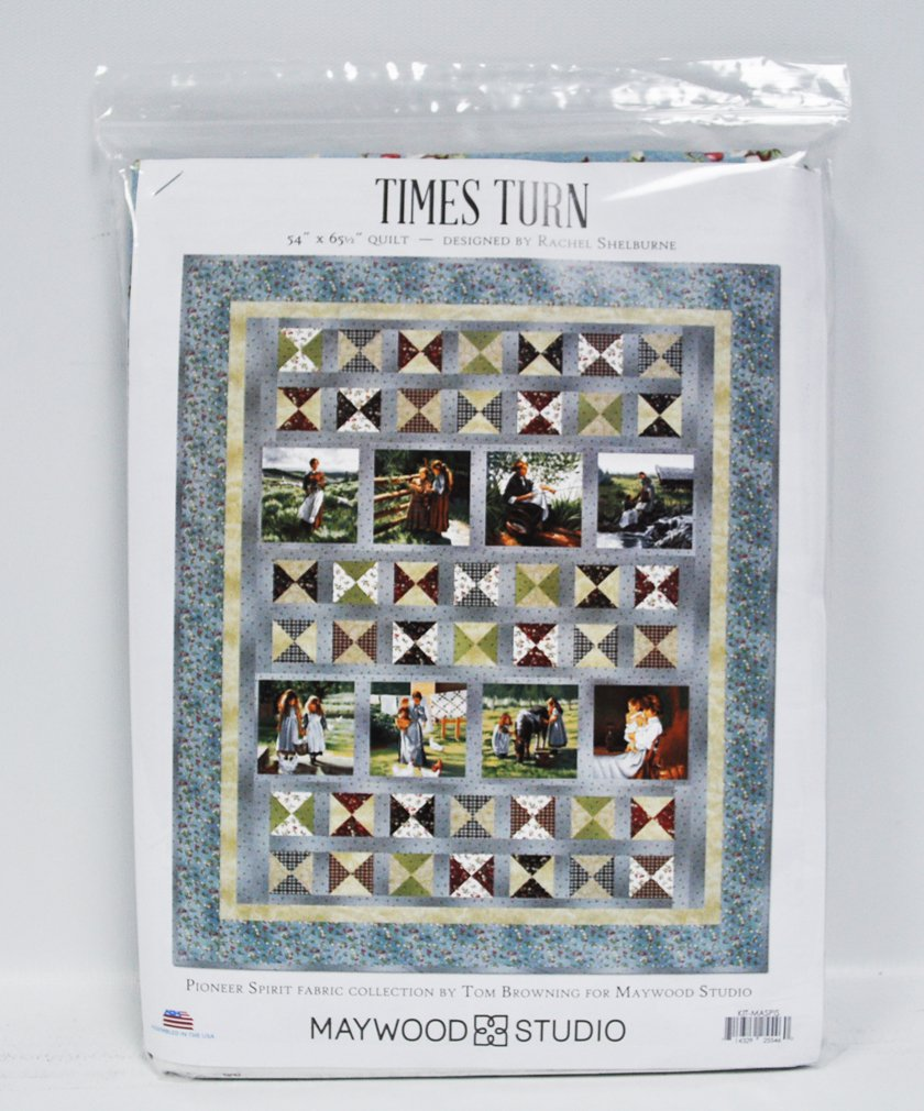 Pioneer Spirit Times Turn Quilt Kit