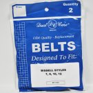 Dust Care Bissell Style 7 9 10 12 Vacuum Belts.