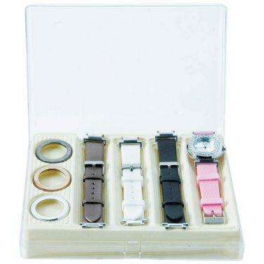 Women's Watch / Ladies' Watch with Interchangeable Bands and Faces - JELWAT3 - FREE SHIPPING!