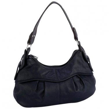 Ladies Leather Purse/ Handbag/ Embassy Lambskin Leather Purse - LUPURS8 - FREE SHIPPING!