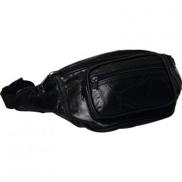 Black Belt Bag/ Maxam Lambskin Leather Belt Bag - LUWAIST - FREE SHIPPING!