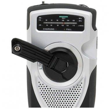 Crank Radio / Mitaki-Japan® AM/FM/Weather Band Emergency Crank Radio - ELCRANK - FREE SHIPPING!