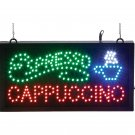 Mitaki-Japan™ ESPRESSO, CAPPUCCINO with Cup Programmed LED Sign - ELMCAP - FREE SHIPPING!