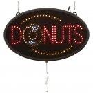 Mitaki-Japan™ DONUTS Programmed LED Sign - ELMDNT - FREE SHIPPING!
