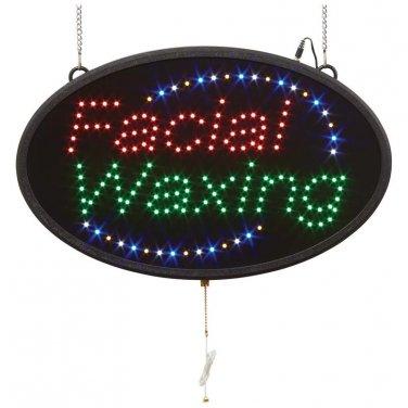 Mitaki-Japan� FACIAL WAXING Programmed Oval LED Sign - ELMFW - FREE SHIPPING!
