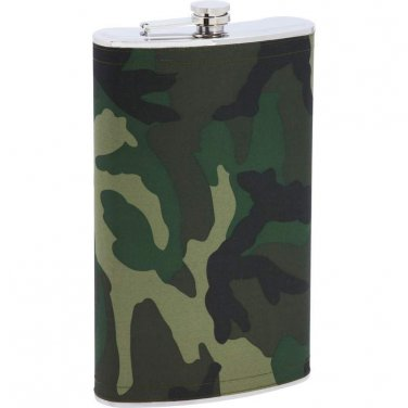 flasks / Maxam® Enormous 1 Gallon Stainless Steel Flask with Camo Wrap - KTFLK128C - FREE SHIPPING!