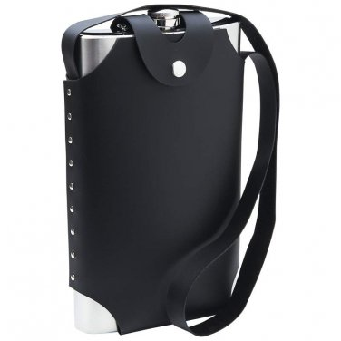 flasks / Maxam® 64oz Jumbo Stainless Steel Flask with Sheath - KTFLSH64 - FREE SHIPPING!