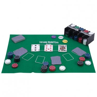 poker / Maxam� 208pc Casino-Style Texas Hold 'Em Poker Set - SPTXPOK - FREE SHIPPING!