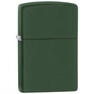 zippo lighter / Zippo® Green Matte Finish Lighter - 221 - FREE SHIPPING!