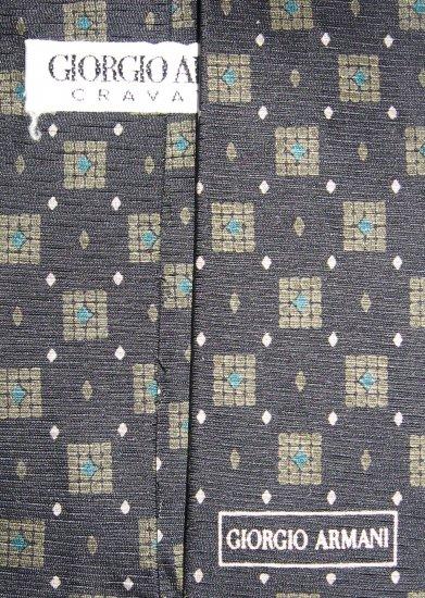 Giorgio Armani Cravatte necktie made in Italy