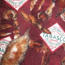 Tobasco Pepper Sauce 100% silk necktie