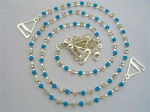 Turquoise and Diamonds Set