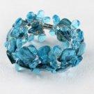 Sea Blue Drop Bracelet