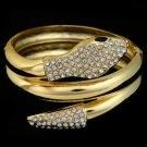 Gold Snake Bangle