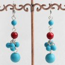 Turquoise Alquemca Earrings