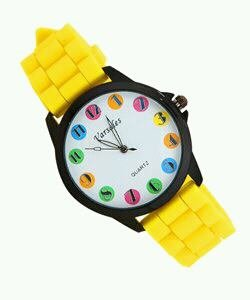 All Out Yellow LTR Watch