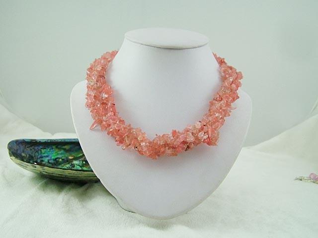 Cherry Quartze Necklace