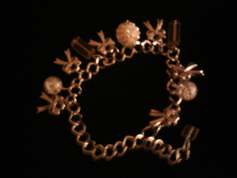 Yellow Multi-charm Bracelet